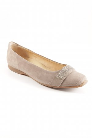 Peter Kaiser Slingback Ballerinas beige Romantik-Look