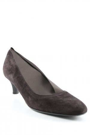 Tommy HILFIGER trotteur animalmuster businesslook da donna tg. de 41 MARRONE PUMPS