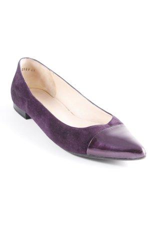 Peter Kaiser Zapatos formales sin cordones lila elegante