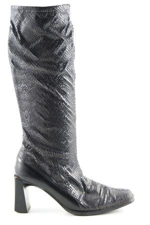 Peter Kaiser Slappe laarzen zwart extravagante stijl