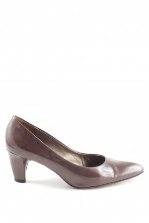 Peter Kaiser Pointed Toe Pumps brown-bronze-colored business style