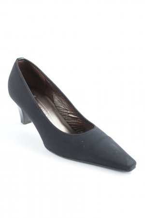 Peter Kaiser Spitz-Pumps schwarz-bronzefarben Business-Look