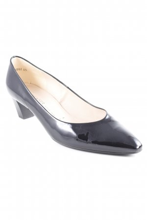 Peter Kaiser Spitz-Pumps schwarz Business-Look
