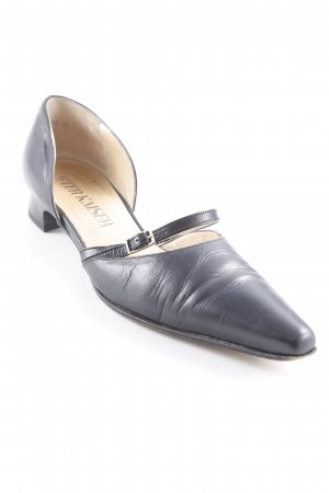 Peter Kaiser Spitz-Pumps schwarz-hellbeige Business-Look