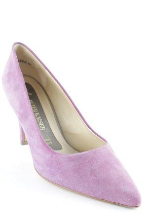 Peter Kaiser Spitz-Pumps violett Elegant