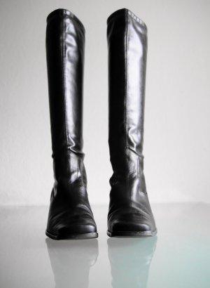 Peter Kaiser Stretch laarzen zwart Leer