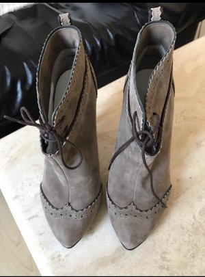 Peter Kaiser Botas deslizantes gris-gris claro