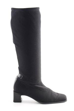 Peter Kaiser Stretch laarzen zwart elegant
