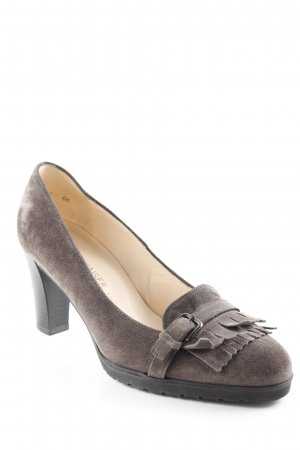 Peter Kaiser Zapatos Informales gris estilo clásico