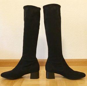 Peter Kaiser Stretch laarzen zwart Suede