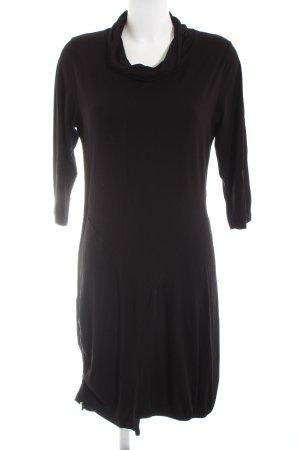 Peter Luft Shirtkleid schwarz Elegant