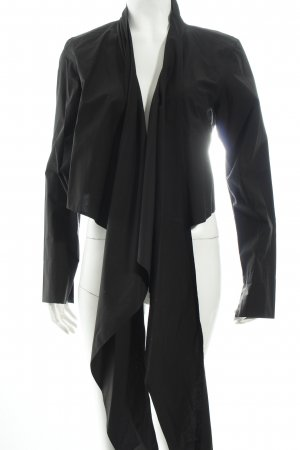 peter o. mahler Wickel-Bluse schwarz extravaganter Stil