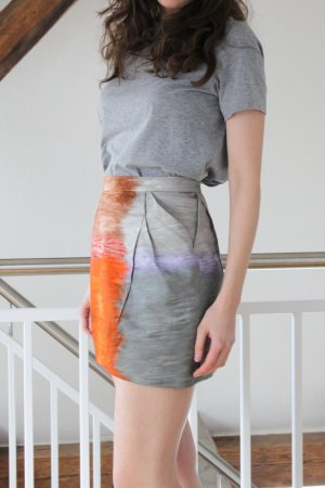 "PETER PILOTTO ""Dart"" Skirt"