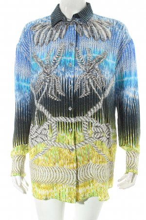 Peter Pilotto Seidenbluse abstraktes Muster Casual-Look