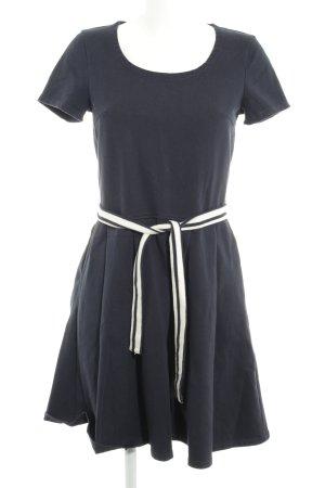 Petit bateau A-Linien Kleid dunkelblau Casual-Look