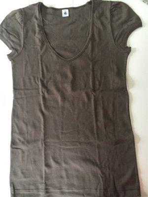 Petit Bateau - Damen Shirt dunkelbraun