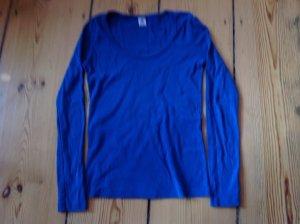 Petit Bateau Longsleeve blau Gr. 38 (16ans)