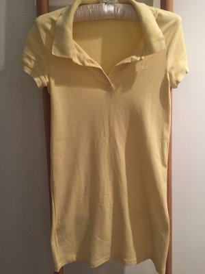 Petit Bateau Polo Kleid, S, gelb