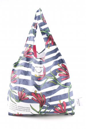 Petit bateau Stofftasche Blumenmuster Casual-Look