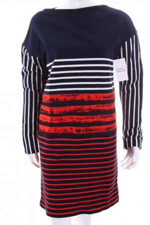 Petit bateau Knitted Dress striped pattern casual look