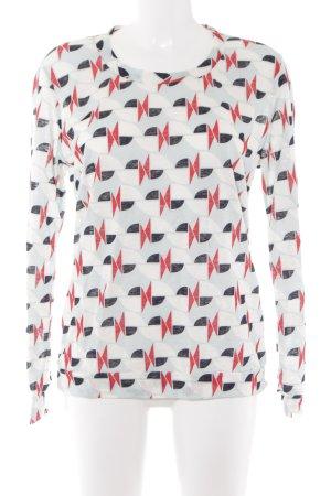 Petit bateau Sweatshirt abstraktes Muster Casual-Look