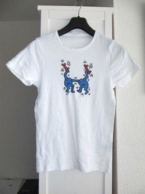 Petit Bateau x Keith Haring T-Shirt 14 Ans - S, 36-38 unisex