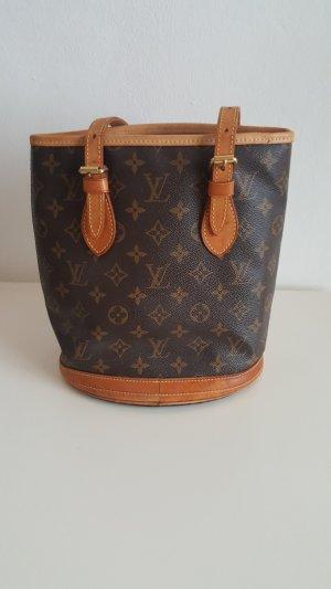 Louis Vuitton Sac Baril chameau-brun cuir