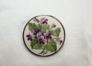 Vintage Broche multicolor