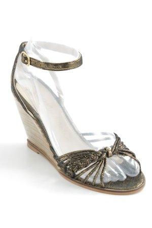 petite Mendigote Wedges Sandaletten mehrfarbig Street-Fashion-Look