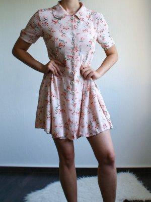 Petite Vintage Stil Minikleid Premium Denim Collection