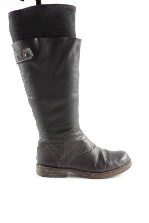 Petra Dieler Winter Boots black-brown casual look