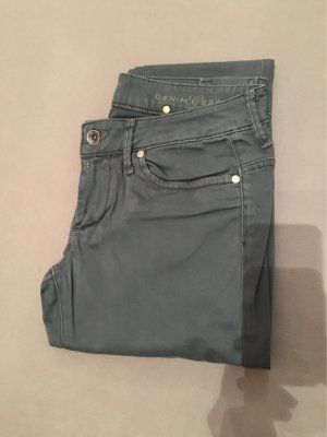 G-Star Raw pantalón de cintura baja petróleo
