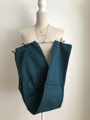 Drainpipe Trousers cadet blue-petrol