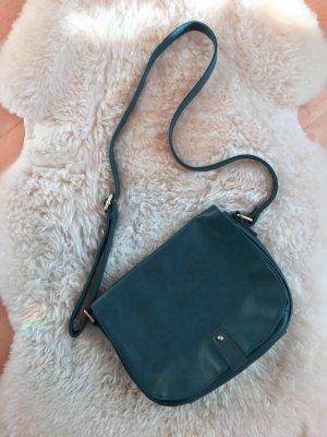 Petrolfarbene Handtasche