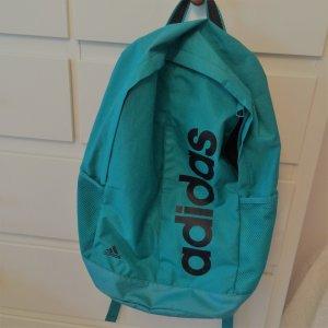 petrolfarbener, superleichter Adidas Rucksack