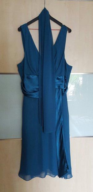 Petrolfarbenes Festliches Kleid Gr. 42/44