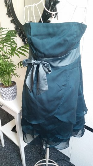 Petrolfarbenes Kleid