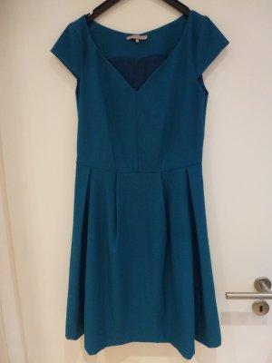 Anna Field Shortsleeve Dress petrol polyester