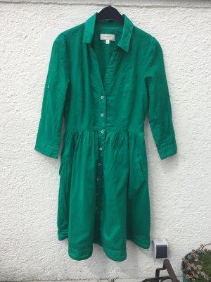 Petrolfarbenes Kleid von Moulinette Soeur von Anthropologie