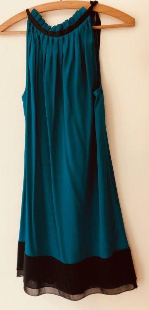Petrolfarbenes Kleid von Sisley