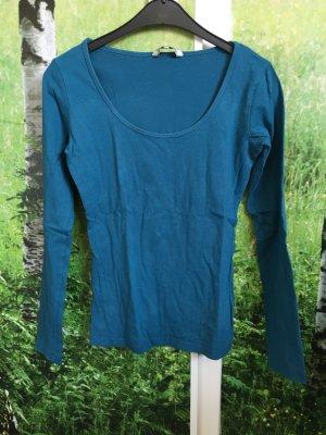 Petrolfarbenes Pullover