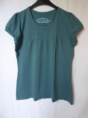 Petrolfarbenes T-Shirt von Zero