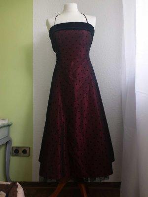 petticoat Kleid gepunktet