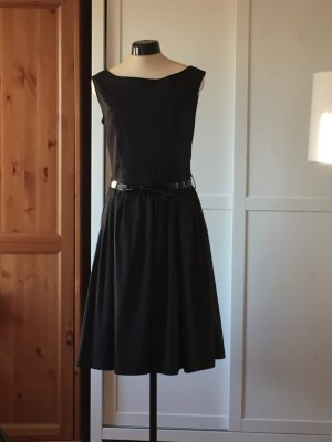 Petticoat Kleid im Audrey Hepburn Stil, schwarz mit passendem Unterrock M