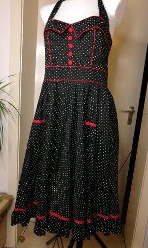 Petticoat Kleid mit Pünktchen, Gr. M
