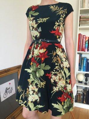 Petticoat Kleid von Ted Baker aus Seide mit Gürtel