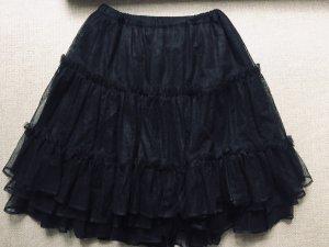 St Martine Tulle Skirt black