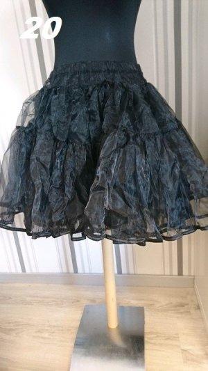 Sottogonna nero Tessuto misto