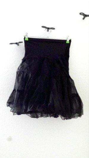 Grace Karin Enaguas negro tejido mezclado