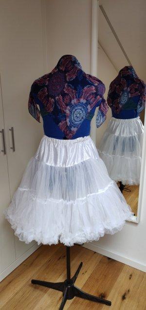 Hell Bunny Tulle Skirt white